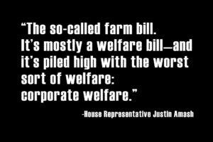 farm bill is corporate welfare