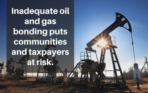 inadequate oil and gas bonding
