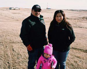 walter and lisa deville ft berthold reservation, mandaree, north dakota