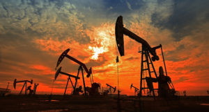 twilight on oil and gas wells