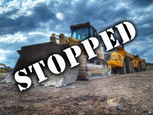 keystone XL pipeline stopped