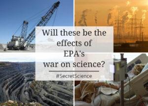 EPA war on science