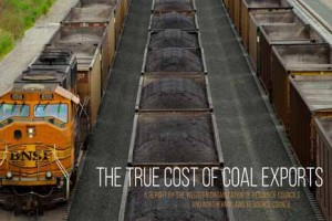 """""""The True Cost of Coal Exports"""" describes the problem with proposals to export coal through the Pacific Northwest U.S."""