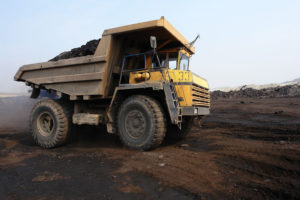 coal mine heavy equipment
